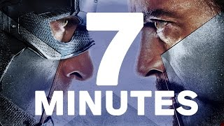 7 Minutes of Captain America: Civil War (Compiled from All Trailers, TV Spots & Clips)