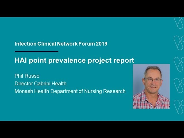 Healthcare associated infections point prevalence project report