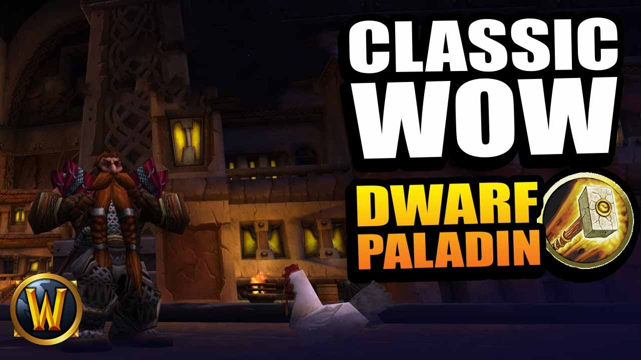 Dwarf Paladin - Baern gets a chicken (RP leveling) // WoW Classic