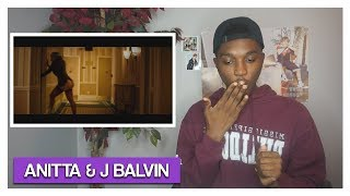 Anitta & J Balvin - Downtown (REACTION) | Jayden Alexander