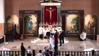 Confirmaciones en Sta. Catalina de Siena 2011