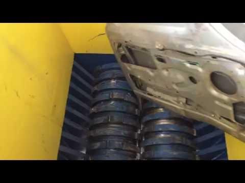 Enerpat UK Metal Shredder For Shredding Car Door
