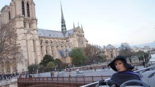 Париж. Экскурсия по Парижу на туристическом автобусе. Часть 6(После прогулки на кораблике и Эйфелевой башни, мы совешили обзорную экскурсию по Парижу на двухэтажном..., 2016-09-04T07:24:17.000Z)