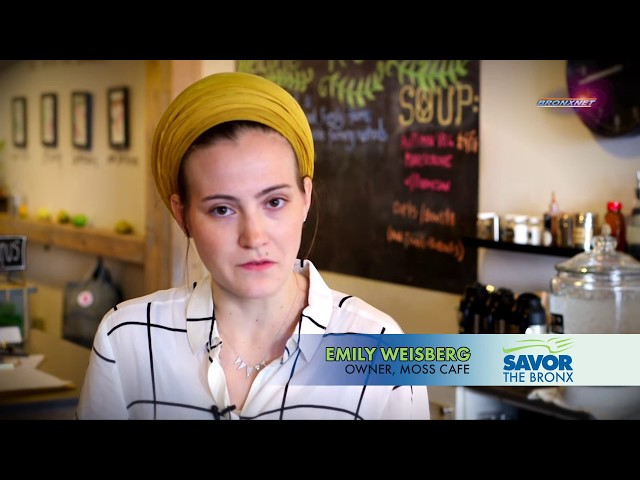 Savor The Bronx Moss Cafe