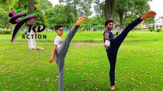 Taekwondo Daily training Routine Workout - TKD Action