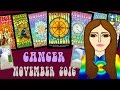 CANCER NOVEMBER 2016 Tarot psychic reading forecast predictions free
