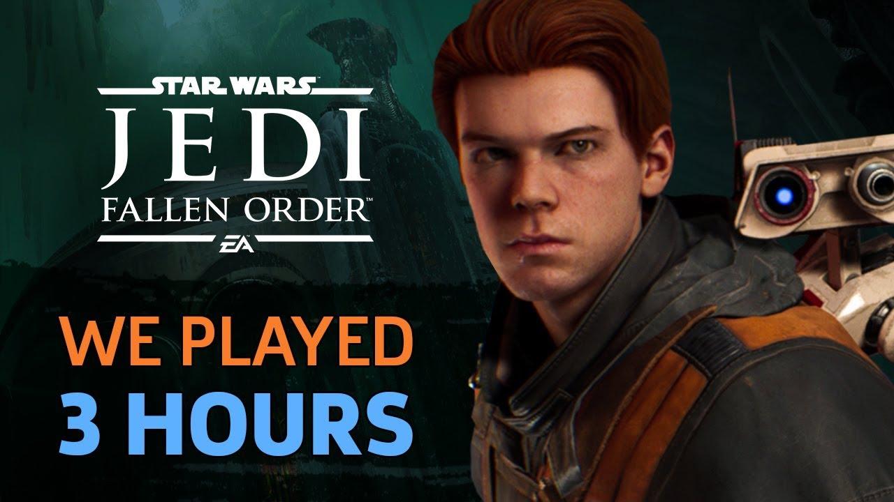We Played 3 Hours Of Star Wars Jedi: Fallen Order