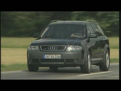 Audi Allroad Quattro 2.5 TDI Der Offroad-Kombi im Test