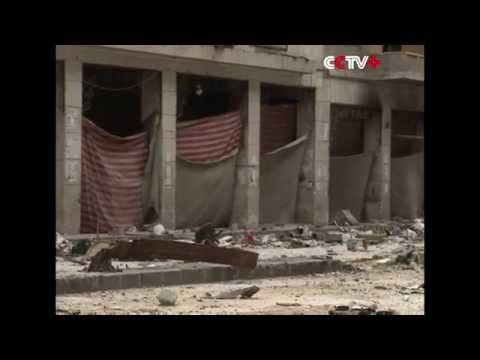 Syrian Conflict Turns Aleppo into Ghost Town