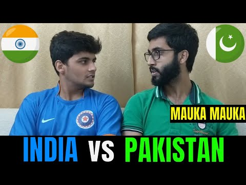 INDIA vs PAKISTAN | World Cup 2019 | Crown Cricket Ka | MAUKA MAUKA