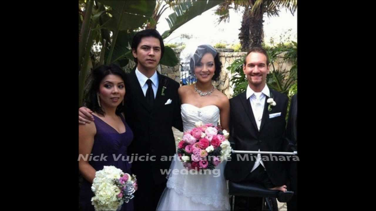 Nick Vujicic weds Kanae Miyahara - Wedding of the century ...