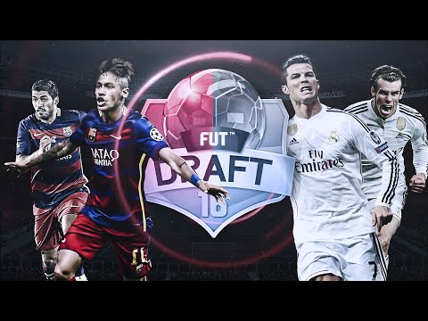 FIFA 16 | FUT DRAFT POST MADRID - BARCELONA | Ultimate Team