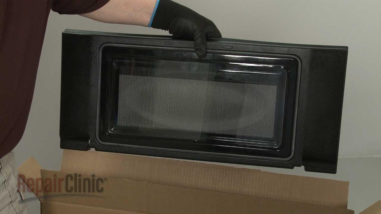 kitchenaid microwave inner door panel replacement w10737653