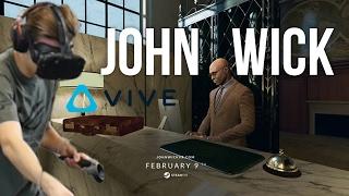 NEJLEPŠÍ hra na virtuální realitu! [John Wick]