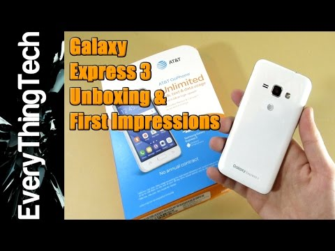 Samsung Galaxy Express 3 Unboxing and First Impressions!