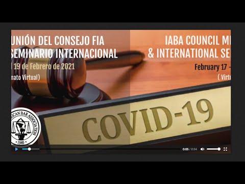 Reunión del Consejo y Seminario Internacional IABA/FIA 2021