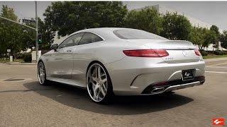 "New Mercedes Benz S550 4MATIC Coupe 24"" Lexani Wheels"
