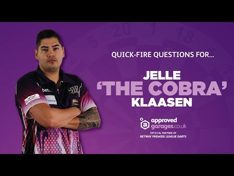 Quickfire Question Challenge - Jelle 'The Cobra' Klaasen