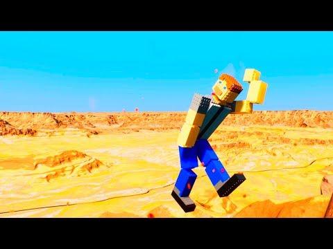 Lego Ragdolls Falls | Brick Rigs |