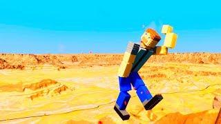 Lego Ragdolls Falls   Brick Rigs