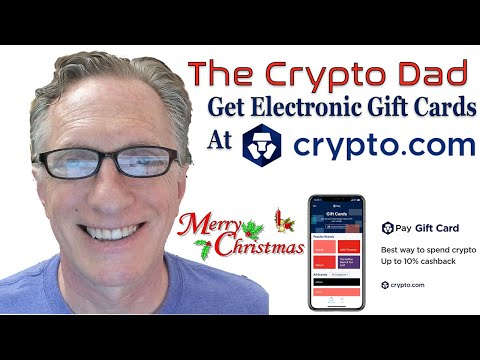 Crypto.com Electronic Gift Cards Just In Time For Christmas!