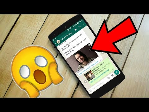 New Whatsapp Trick 2017 - Play Youtube In Background While Chatting on Whatsapp  - NO ROOT 2017