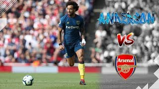 It was a disappointing result, but our record signing constant thorn in arsenal's side... here are felipe anderson's best moments from the game. ► subs...