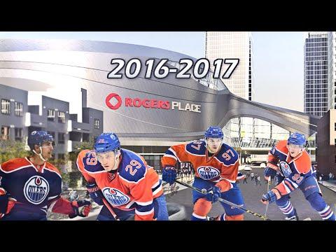 Edmonton Oilers 2016-2017 Pump Up