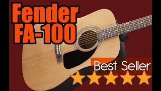 Which guitar to buy? Fender FA-100 acoustic guitar review