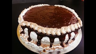 Chocolate Cake with Chocolate Ganache Frosting Icing  Full proof recipe with all tricks and tips