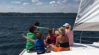 Gemini Legacy Catamaran Sailing