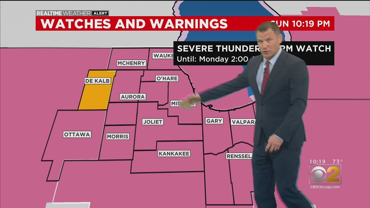 Chicago Weather: Tornado Warnings Issued Around Chicago Area ...