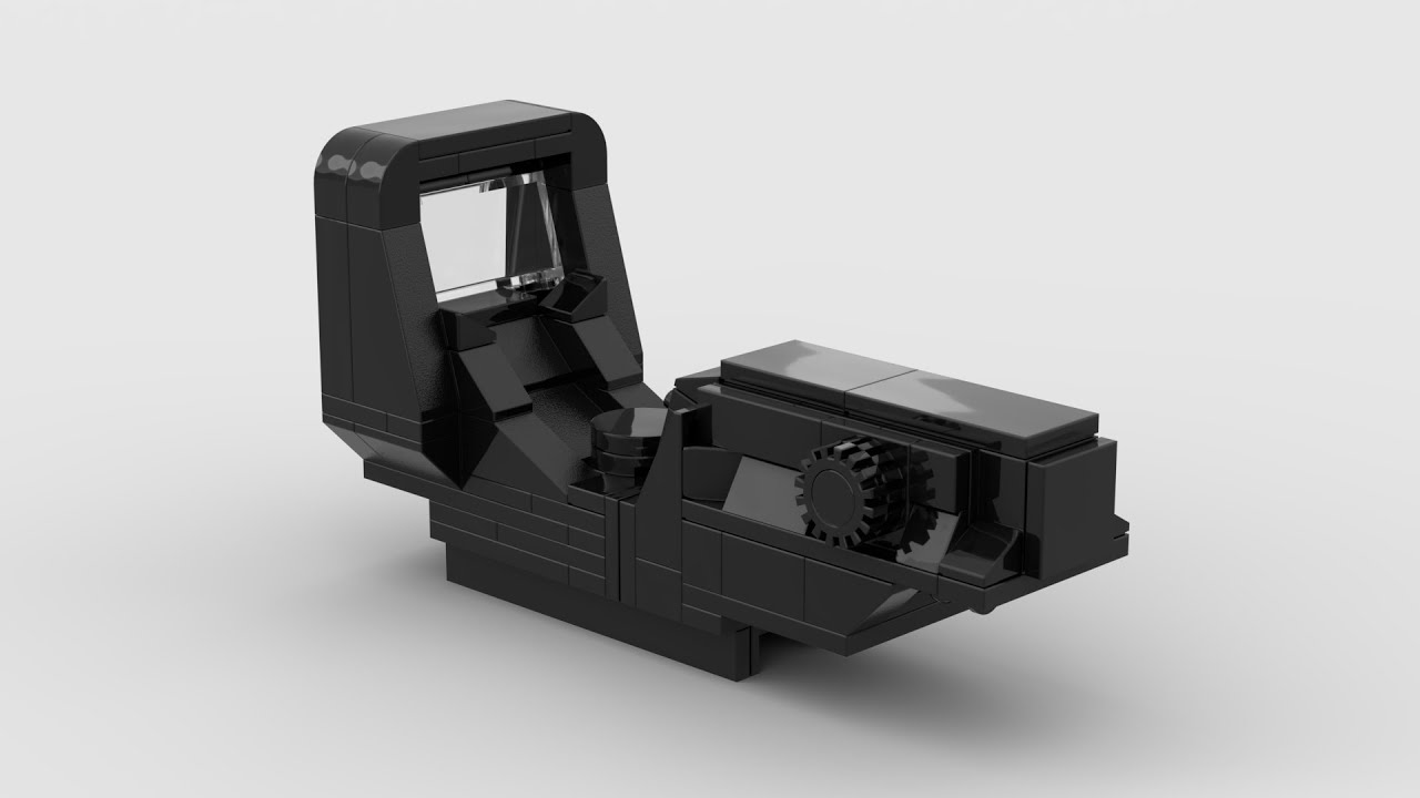 Lego: Red Dot Sight (Working) + Instructions