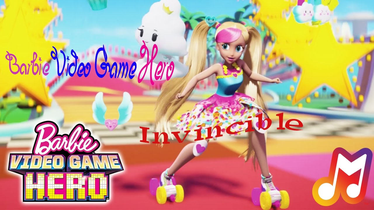 Barbie Video Game Hero - Invincible Lyrics