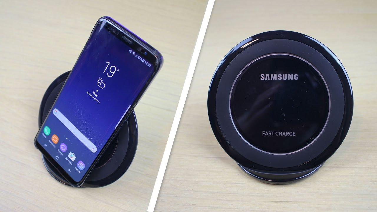 samsung galaxy s8 wireless charger dock fast charge. Black Bedroom Furniture Sets. Home Design Ideas
