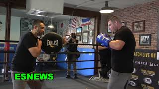 Breaking News Andy Ruiz Parts Ways With Manny Robles