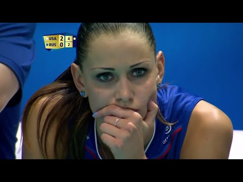 2014 FIVB World Championships RUSSIA Vs USA Women Volleyball