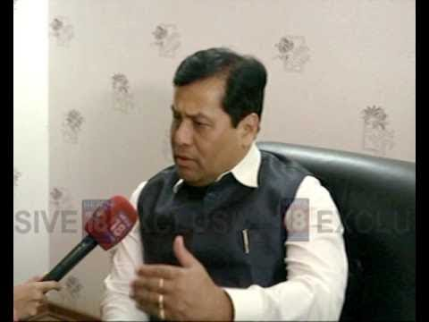 Exclusive Interview With Sarbananda Sonowal