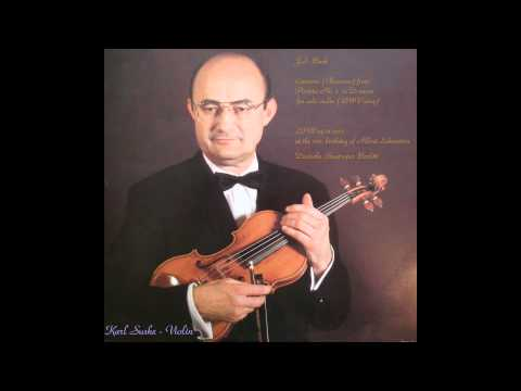 Bach - Chaconne SUSKE (LIVE 1975) 1/2