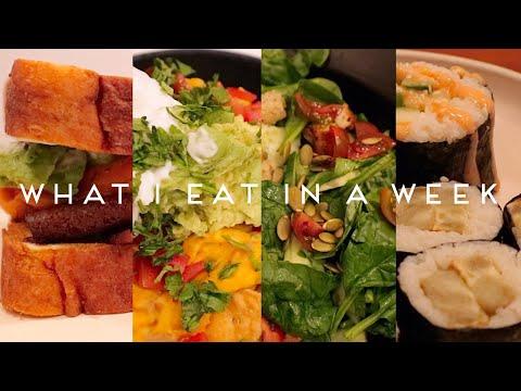 WHAT I EAT IN A WEEK VEGAN  Quarantine Edition 008