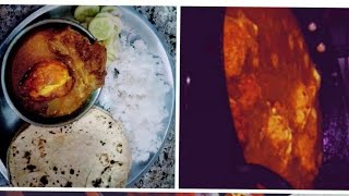 Indian dinner routine| how to prepare a perfect and simple dinner recepie | egg curry.☺️