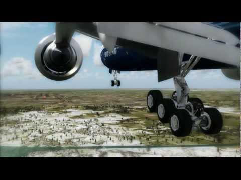 FSX HD - Aerosoft Mega Airport Amsterdam And planes