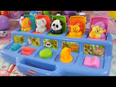 Learning numbers 1 to 5 pop up children's toy Disney Toys Chest Fun Kids Learning