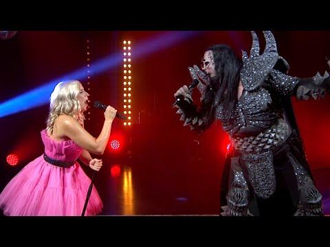 Mr. Lordi & Krista Siegfrids - Diva (Yle Olohuone live)