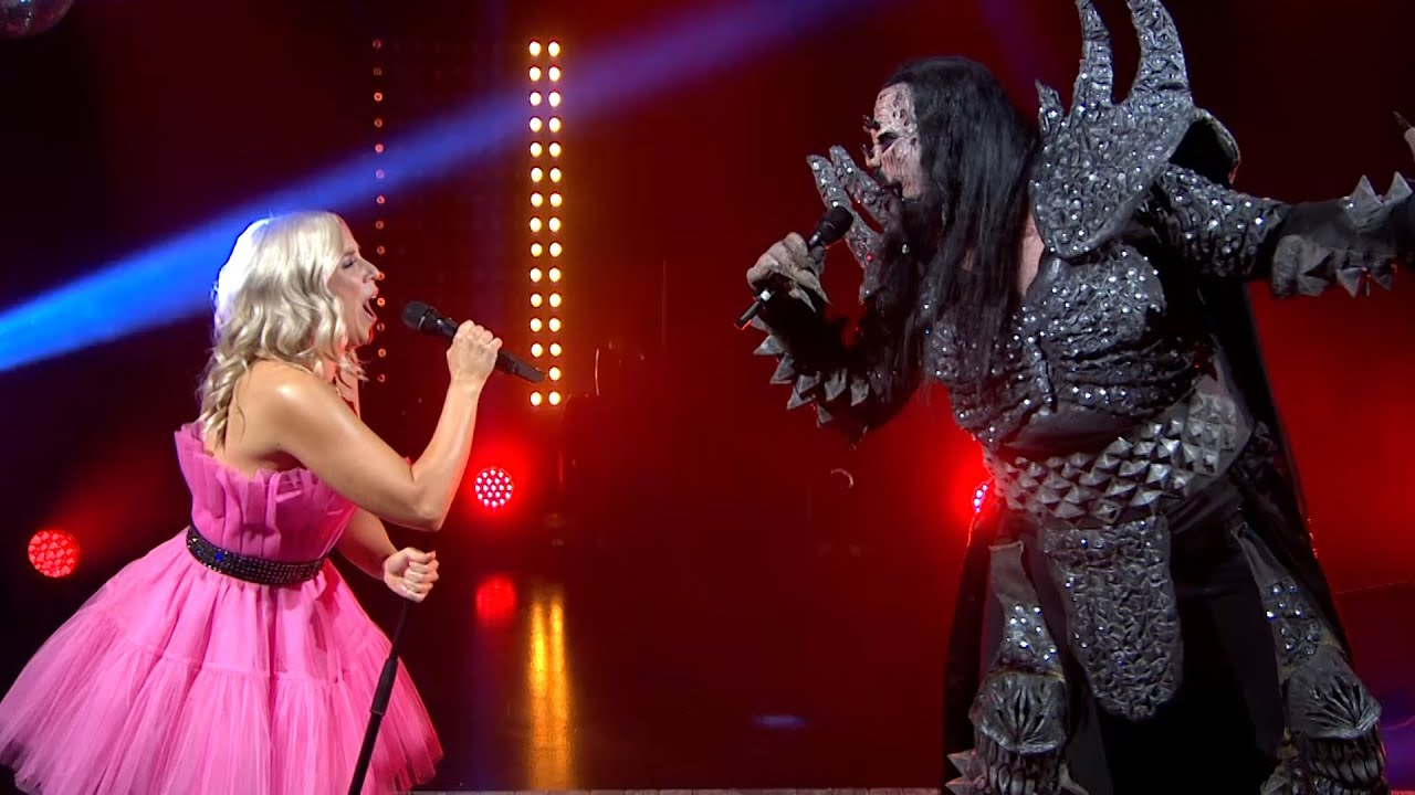 Mr Lordi and Krista Siegfrids - Diva