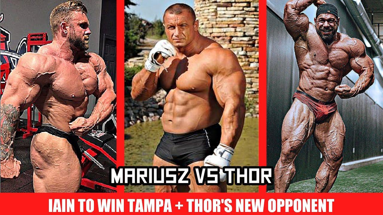 Thor to Fight Mariusz Pudzianowski? + Iain to Win Tampa + Steve Kuclo 3 Weeks Out +Cedric's Comeback