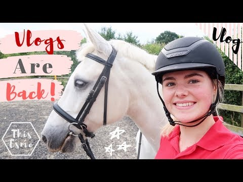 Vlog | Day In The Life! Feeding, Cleaning + Riding The Horses | This Esme