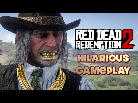 """WE GOT SET UP...TWICE LOL! ( FUNNY """" RED DEAD REDEMPTION 2"""" GAMEPLAY #18 thumbnail"""