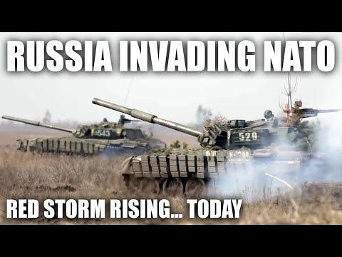 Red Storm Rising if it Happened Today - US vs Russia Scenario