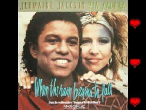 Jermaine Jackson & Pia Zadora-When the rain begins to fall